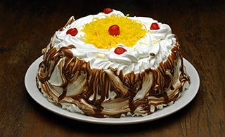 Torta de Chocolate com Marshmallow