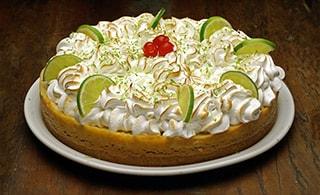 Torta de Limão na Massa de Biscoito